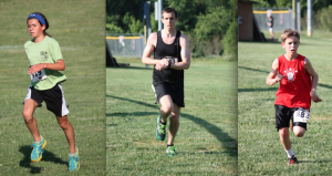 Adelaide Amore, Alex Hanney and PHDC member Sam Shunney took the top three spots of the inaugural Warriors 5K Race for the Cure on Saturday, June 1, at Sam Michael's Park in Shenandoah, W.Va.