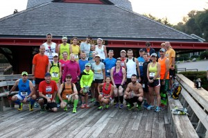 Steel City Road Runners Club invades Maryland. SCRRC members comprised nearly one-third of the 87-runner field in the 2nd annual Run for Gold Metric Marathon and Relay (pres. by HPDM).