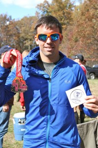 Mike McMonagle, men's FOTM 50K 2013 champion