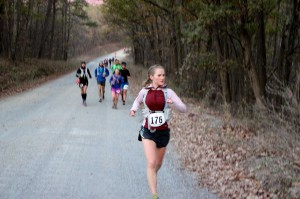 Sarah Colwell - women's FOTM 50K 2013 champion